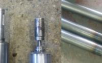Восстановление шеек стальных валов